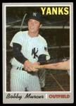 1970 Topps #333  Bobby Murcer  Front Thumbnail