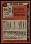 1979 Topps #33  Caldwell Jones  Back Thumbnail