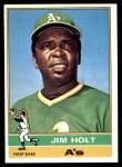 1976 Topps #603  Jim Holt  Front Thumbnail
