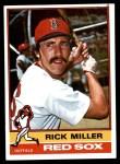 1976 Topps #302  Rick Miller  Front Thumbnail