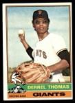 1976 Topps #493  Derrel Thomas  Front Thumbnail