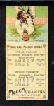 1911 T201 Mecca  Otto Williams / Orville Woodruff  Back Thumbnail