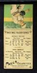 1911 T201 Mecca  Fred Merkle / Hooks Wiltse  Back Thumbnail