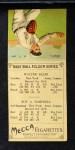 1911 T201 Mecca  Walter Blair / Roy Hartzell  Back Thumbnail
