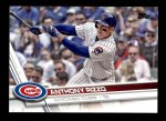2017 Topps #500 A Anthony Rizzo  Front Thumbnail