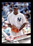 2017 Topps #544 A Luis Severino  Front Thumbnail