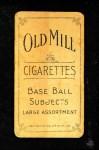 1909 T206 OFF Joe Tinker  Back Thumbnail