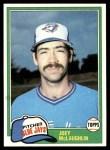 1981 Topps #248  Joey McLaughlin  Front Thumbnail