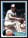 1981 Topps #10  Mike Flanagan  Front Thumbnail