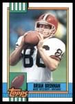 1990 Topps #160  Brian Brennan  Front Thumbnail