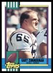 1990 Topps #107  Gary Zimmerman  Front Thumbnail