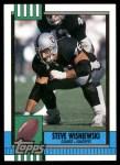 1990 Topps #282  Steve Wisniewski  Front Thumbnail