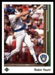 1989 Upper Deck #285  Robin Yount  Front Thumbnail