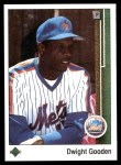 1989 Upper Deck #565  Dwight Gooden  Front Thumbnail