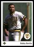 1989 Upper Deck #578  Bobby Bonilla  Front Thumbnail