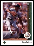 1989 Upper Deck #307  Ron Guidry  Front Thumbnail