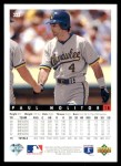 1993 Upper Deck #333  Paul Molitor  Back Thumbnail