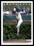 1993 Upper Deck #175  Ryne Sandberg  Front Thumbnail
