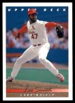 1993 Upper Deck #82  Lee Smith  Front Thumbnail