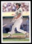 1993 Upper Deck #566  Mark McGwire  Front Thumbnail