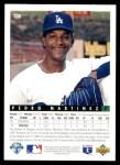 1993 Upper Deck #324  Pedro Martinez  Back Thumbnail
