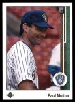 1989 Upper Deck #525  Paul Molitor  Front Thumbnail