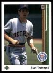1989 Upper Deck #290  Alan Trammell  Front Thumbnail