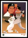 1989 Upper Deck #670   -  Jose Canseco Oakland Athletics Team Front Thumbnail