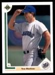 1991 Upper Deck #553  Tino Martinez  Front Thumbnail