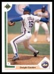 1991 Upper Deck #224  Dwight Gooden  Front Thumbnail