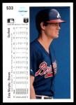 1990 Upper Deck #533  Dale Murphy  Back Thumbnail
