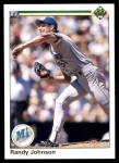 1990 Upper Deck #563  Randy Johnson  Front Thumbnail