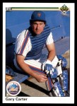 1990 Upper Deck #168  Gary Carter  Front Thumbnail