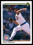 1990 Upper Deck #174  Mitch Williams  Front Thumbnail