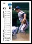 1990 Upper Deck #166  Gregg Jefferies  Back Thumbnail