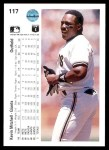 1990 Upper Deck #117  Kevin Mitchell  Back Thumbnail