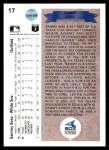 1990 Upper Deck #17  Sammy Sosa  Back Thumbnail