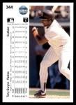 1990 Upper Deck #344  Tony Gwynn  Back Thumbnail