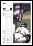 1990 Upper Deck #112  Dwight Evans  Back Thumbnail