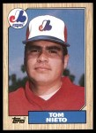 1987 Topps #416  Tom Nieto  Front Thumbnail