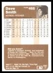 1983 Fleer #466  Dave Smith  Back Thumbnail
