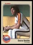 1983 Fleer #466  Dave Smith  Front Thumbnail