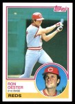 1983 Topps #269  Ron Oester  Front Thumbnail