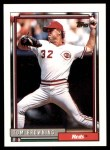 1992 Topps #339  Tom Browning  Front Thumbnail