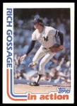 1982 Topps #771   -  Goose Gossage In Action Front Thumbnail
