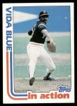 1982 Topps #431   -  Vida Blue In Action Front Thumbnail