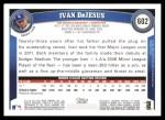 2011 Topps #602  Ivan DeJesus  Back Thumbnail