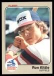 1983 Fleer #241  Ron Kittle  Front Thumbnail