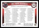 2011 Topps #304   -  Jim Thome Record Breaker Back Thumbnail