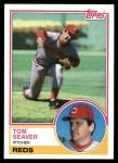 1983 Topps #580  Tom Seaver  Front Thumbnail